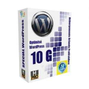 Hébergement WordPress BASE 10 Giga