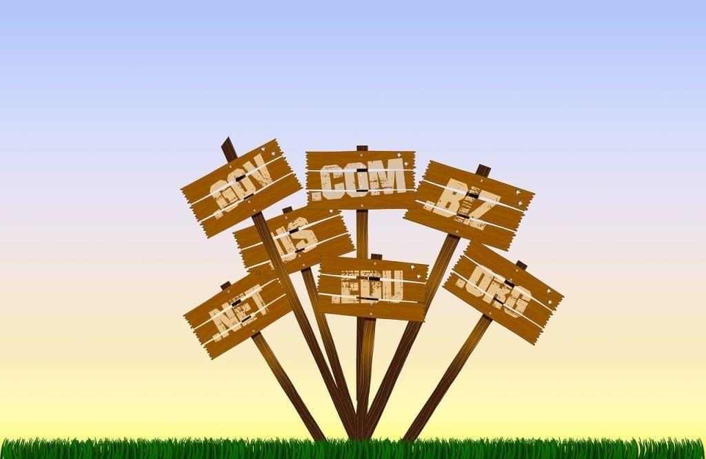Choix d'un nom de domaine pour votre entreprise.