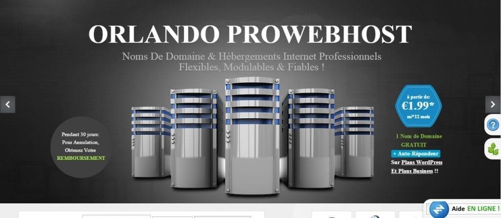 Hébergements web pros OPWH/Orlando-prowebhost.com