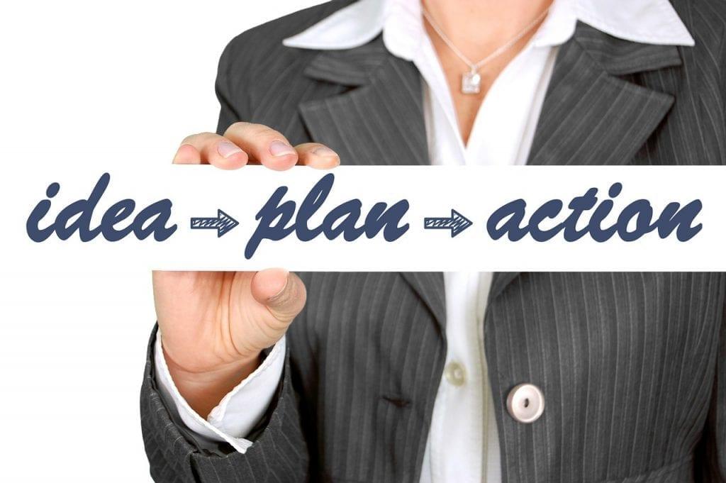 Les meilleures actions pour votre positionnement. Idée-Plan-Action.