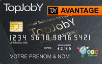 Carte AVANTAGE OBC-TopJobY